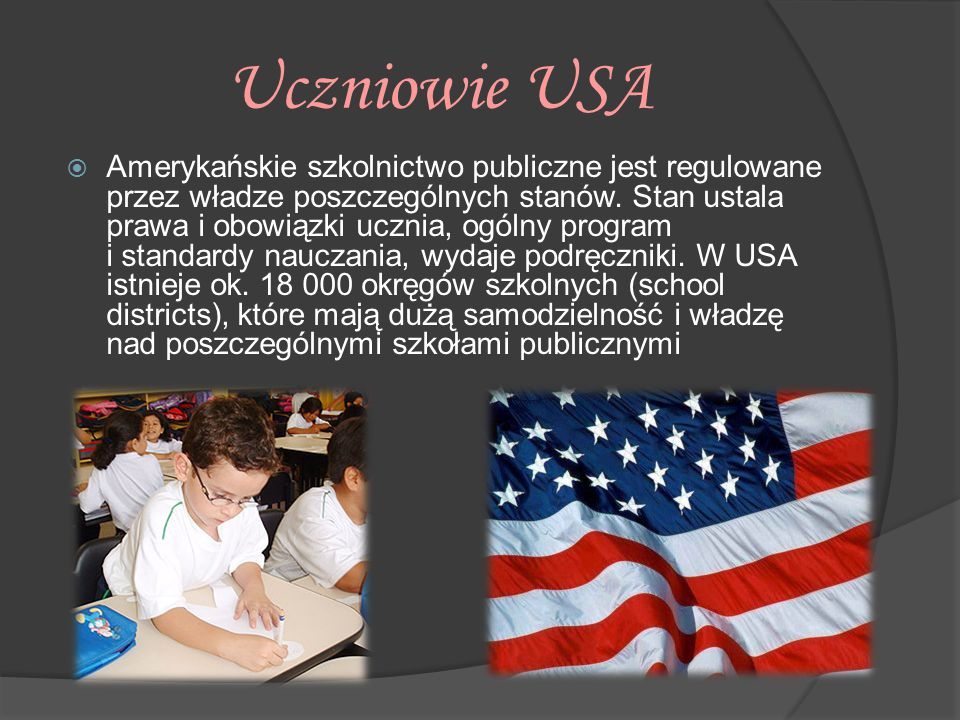 Uczniowie USA
