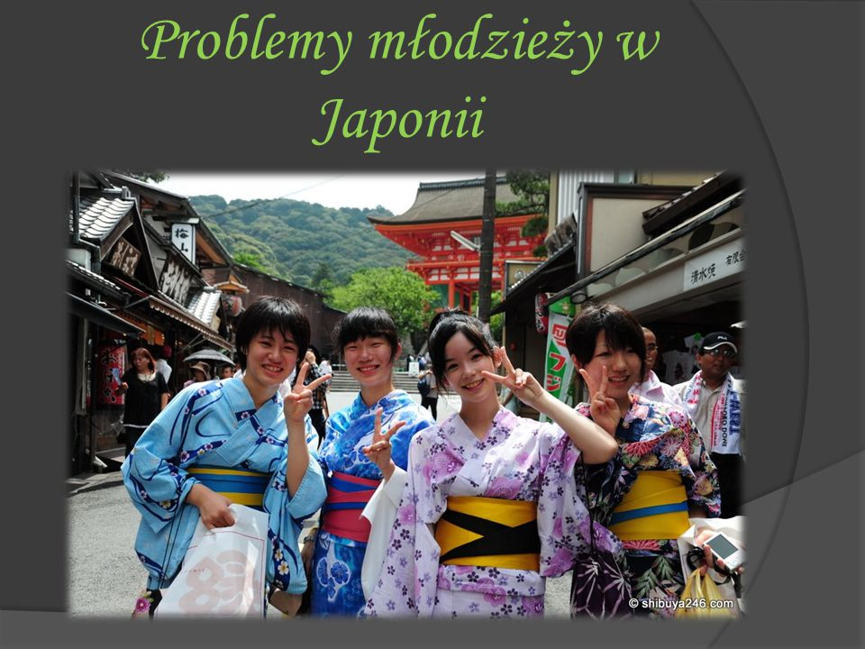 Problemy młodzieży w Japonii