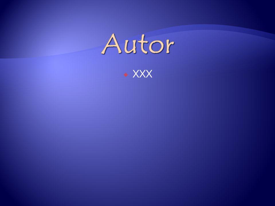 Autor XXX