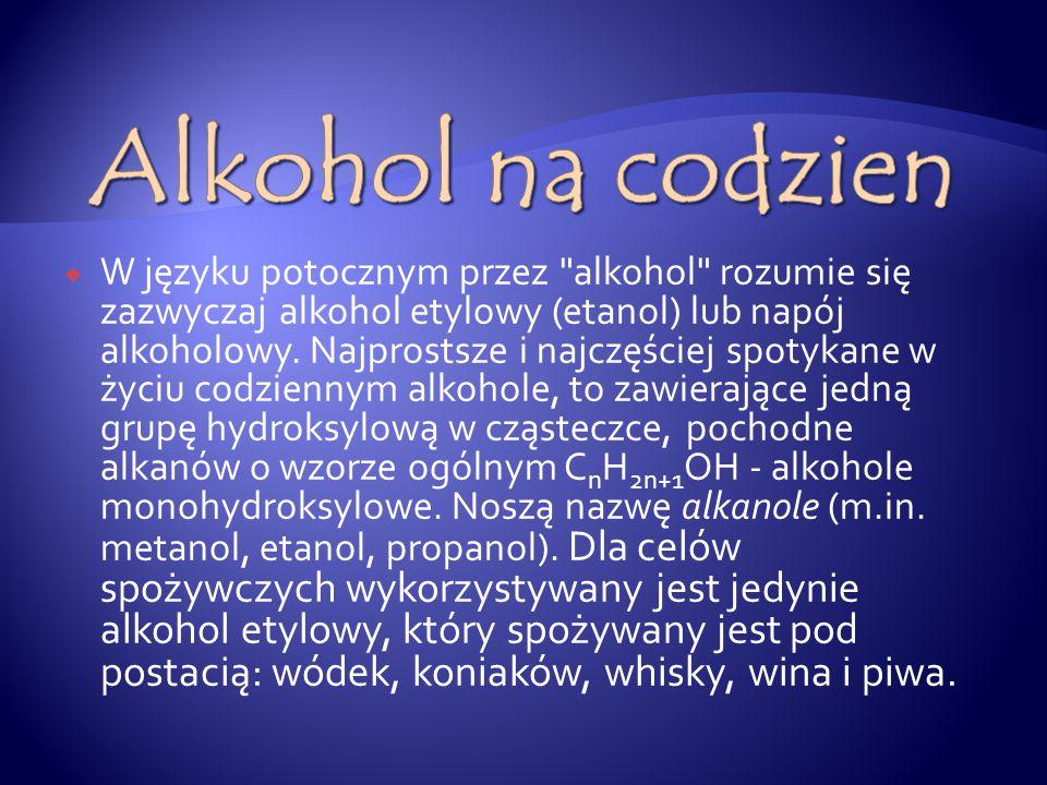 Alkohol na codzien