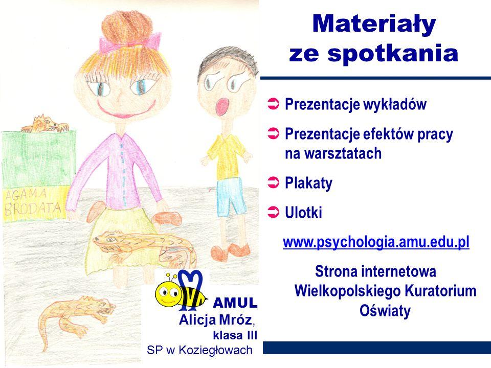 Strona internetowa Wielkopolskiego Kuratorium Oświaty