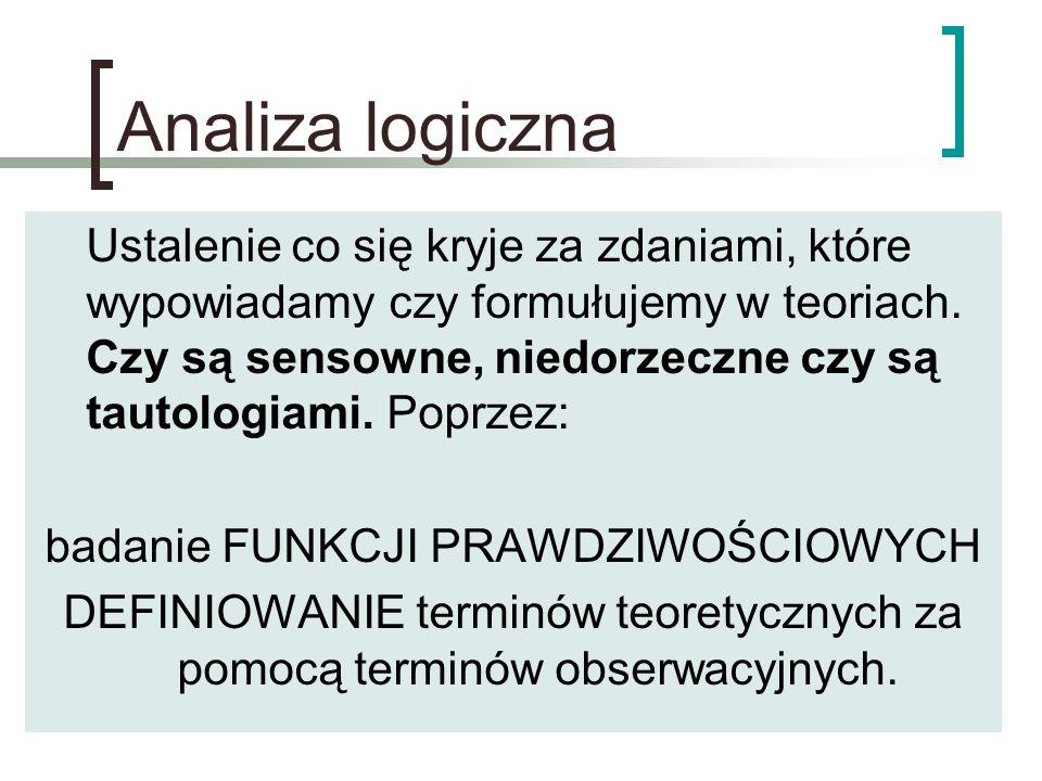 Analiza logiczna