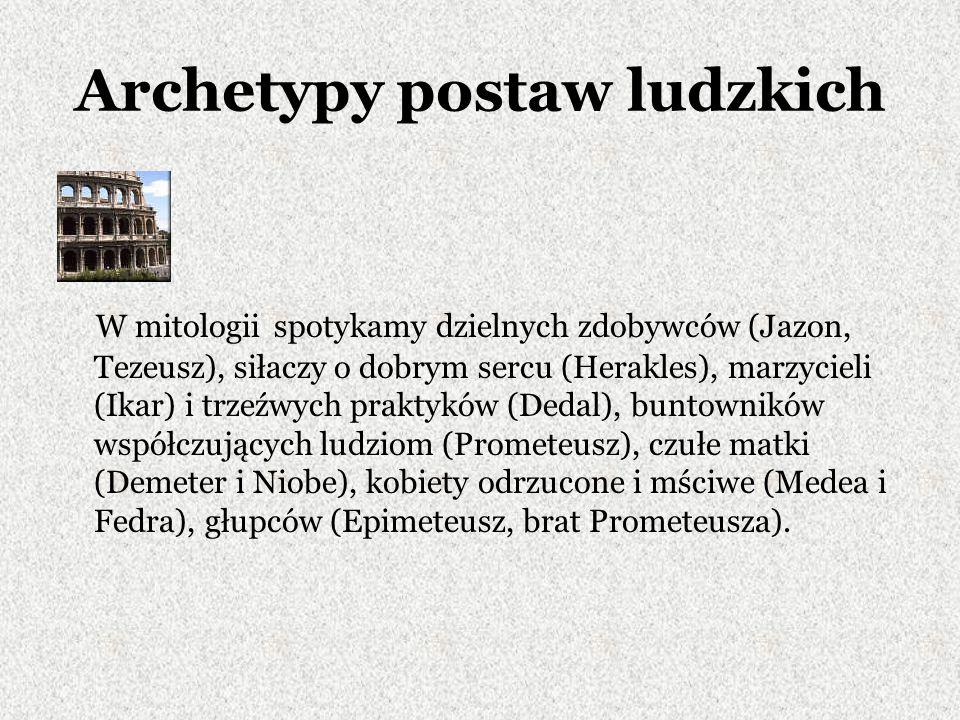 Archetypy postaw ludzkich