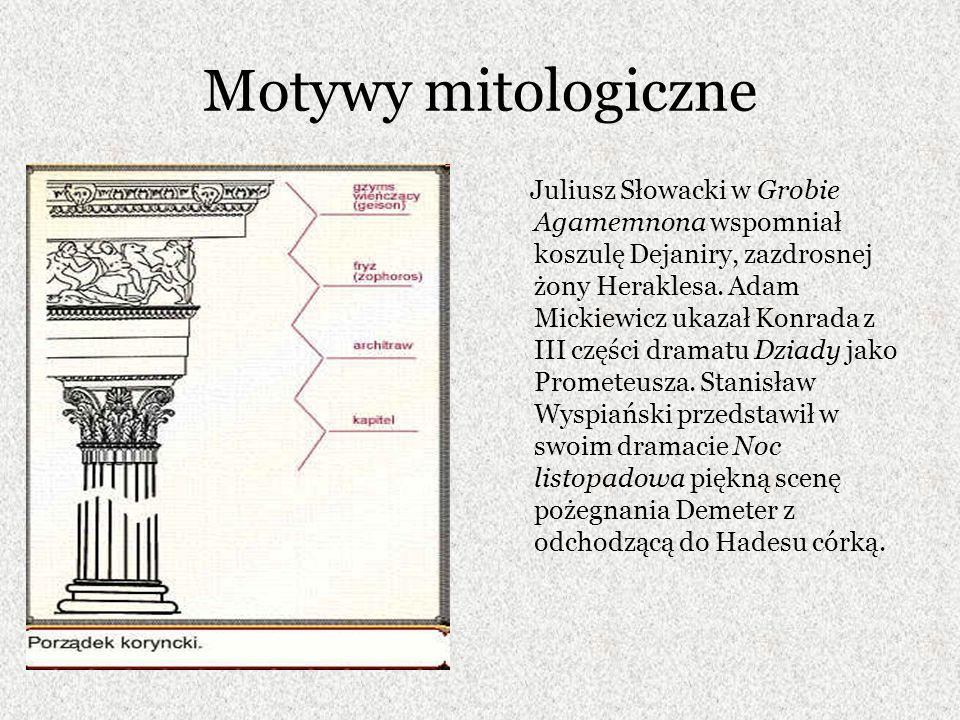 Motywy mitologiczne