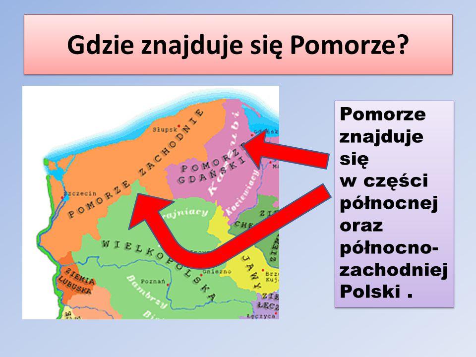 Gdzie znajduje się Pomorze