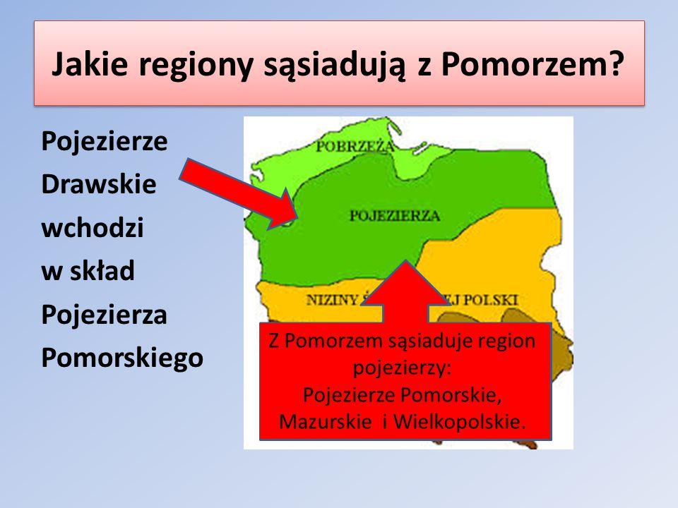 Jakie regiony sąsiadują z Pomorzem
