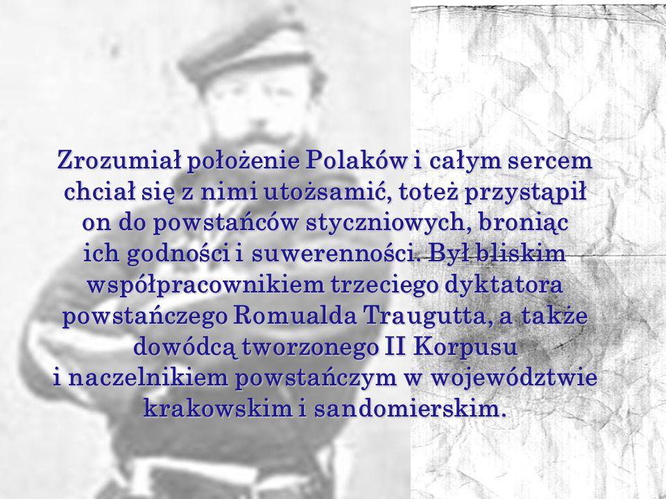 i naczelnikiem powstańczym w województwie krakowskim i sandomierskim.