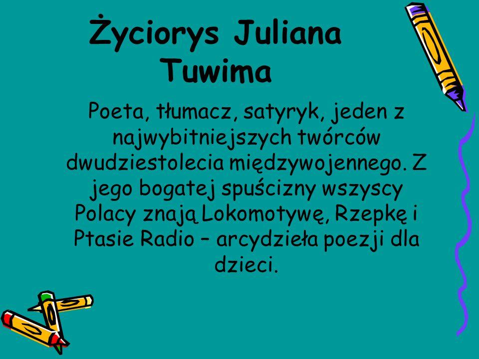 Życiorys Juliana Tuwima