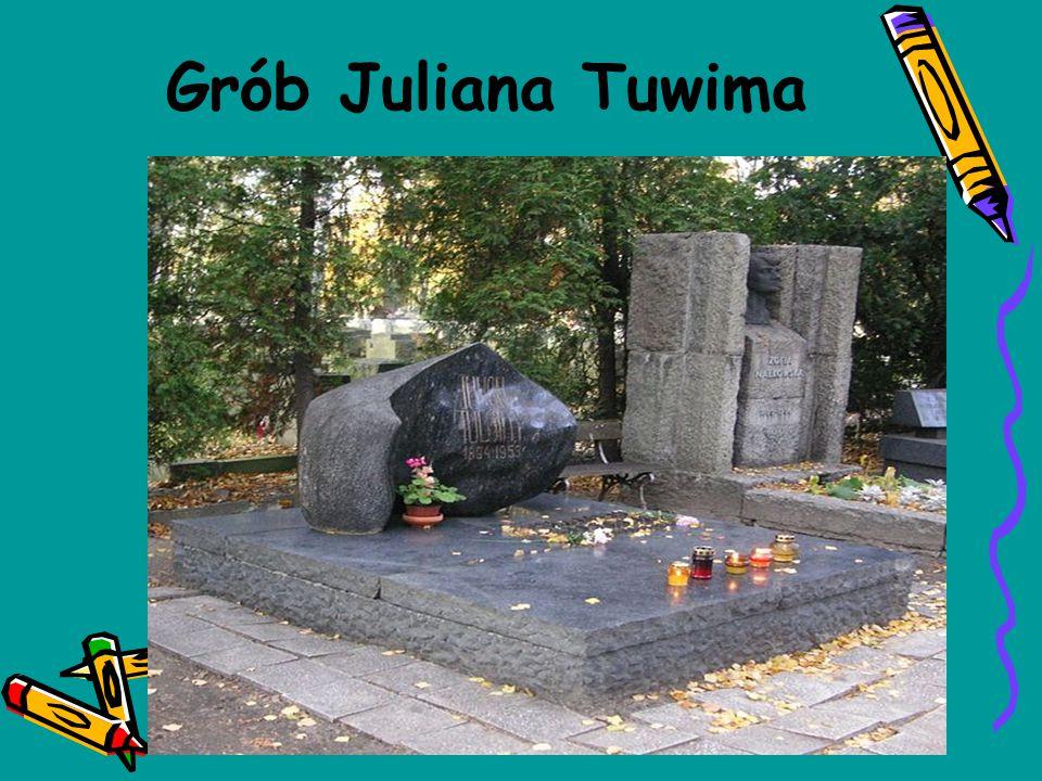 Grób Juliana Tuwima