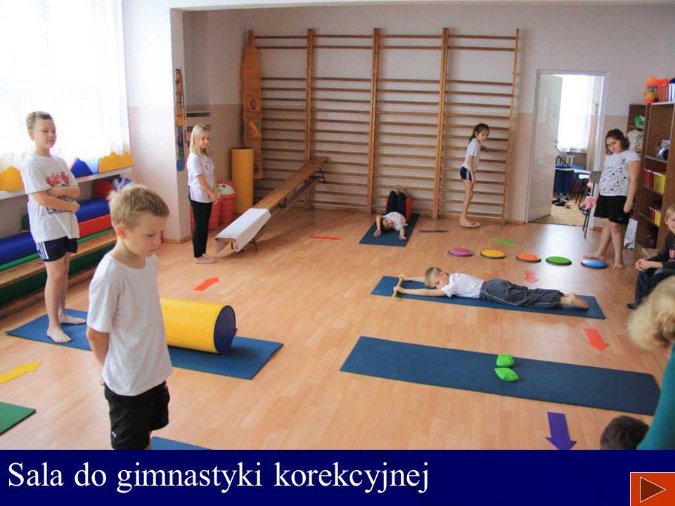 Sala do gimnastyki korekcyjnej