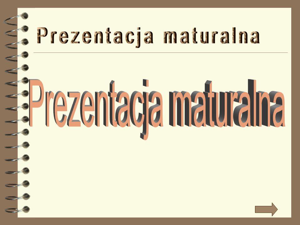 Prezentacja maturalna