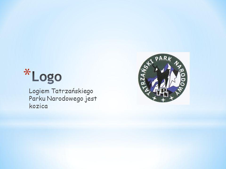 Logo Logiem Tatrzańskiego Parku Narodowego jest kozica