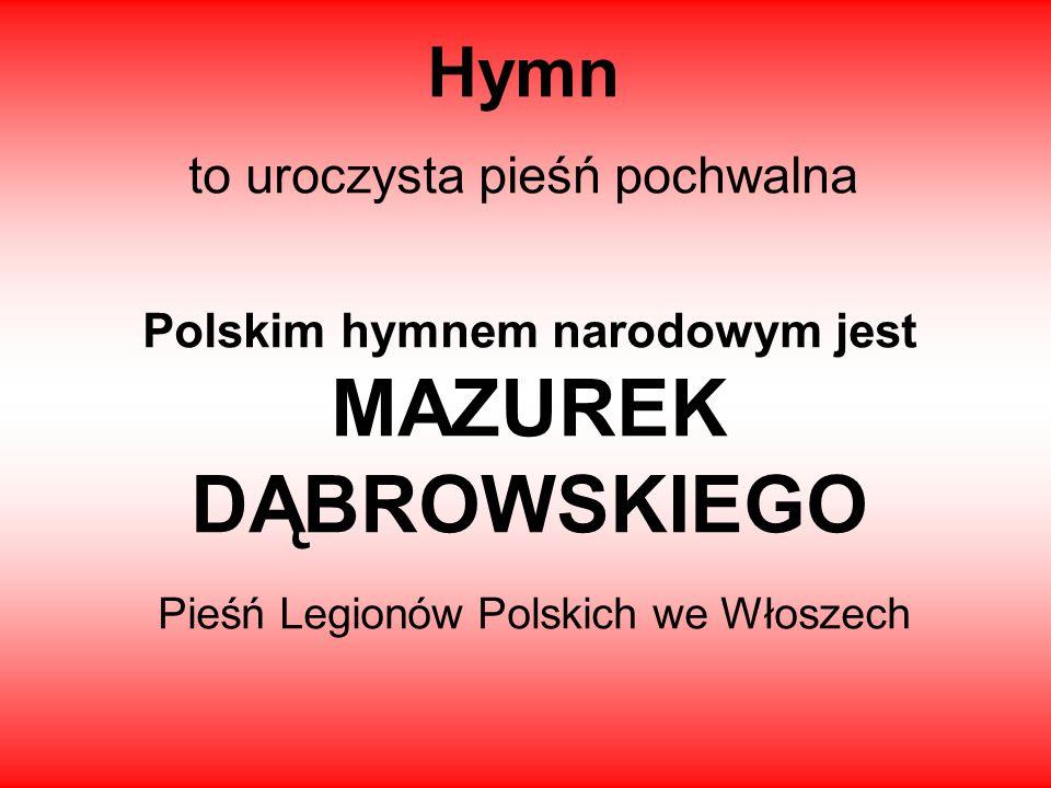 Hymn to uroczysta pieśń pochwalna
