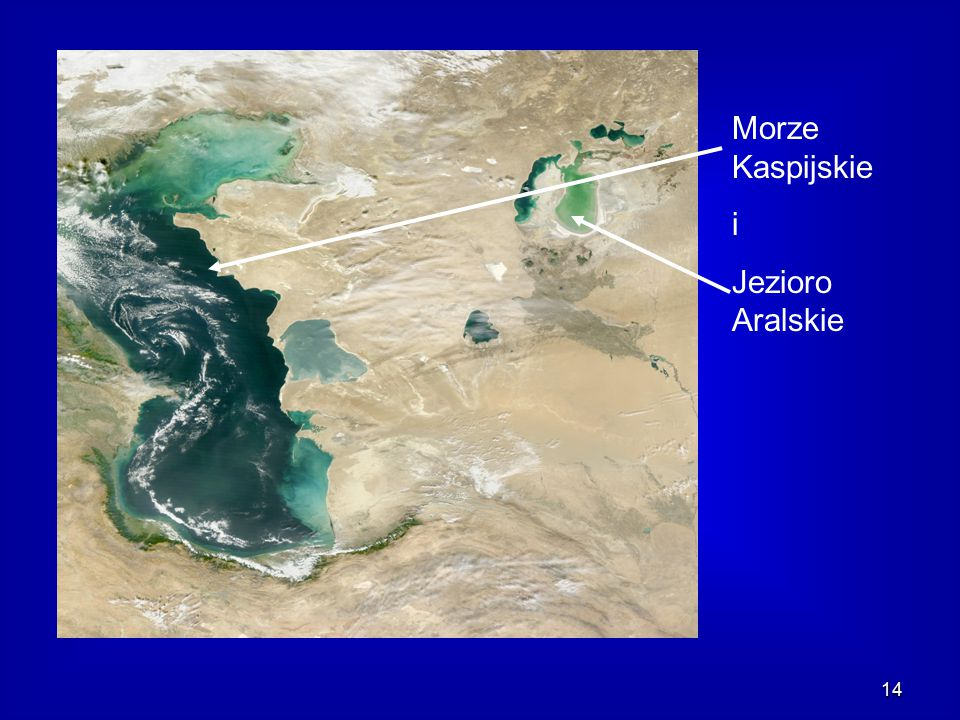 Morze Kaspijskie i Jezioro Aralskie