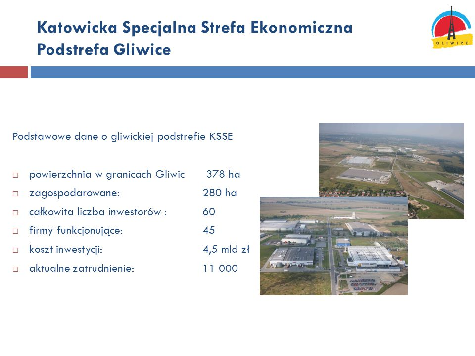 Katowicka Specjalna Strefa Ekonomiczna Podstrefa Gliwice