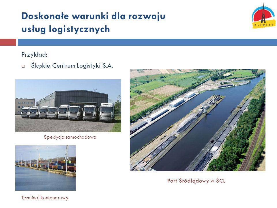 Doskonałe warunki dla rozwoju usług logistycznych