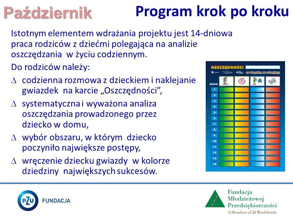 Program krok po kroku Październik