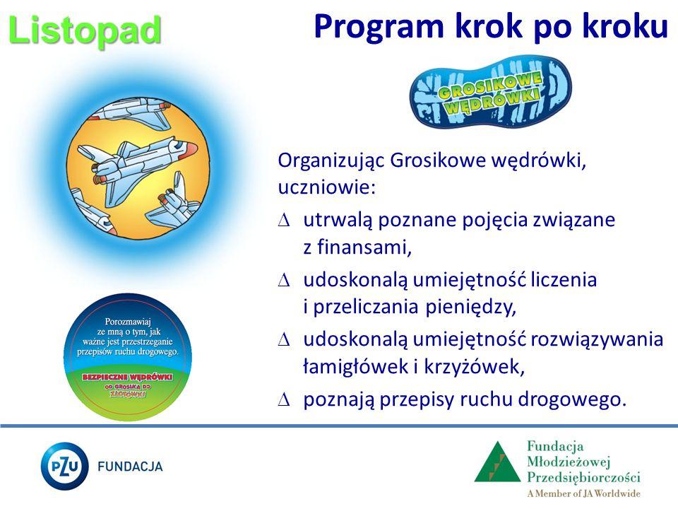 Program krok po kroku Listopad