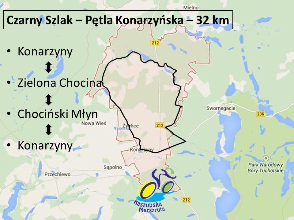 Czarny Szlak – Pętla Konarzyńska – 32 km
