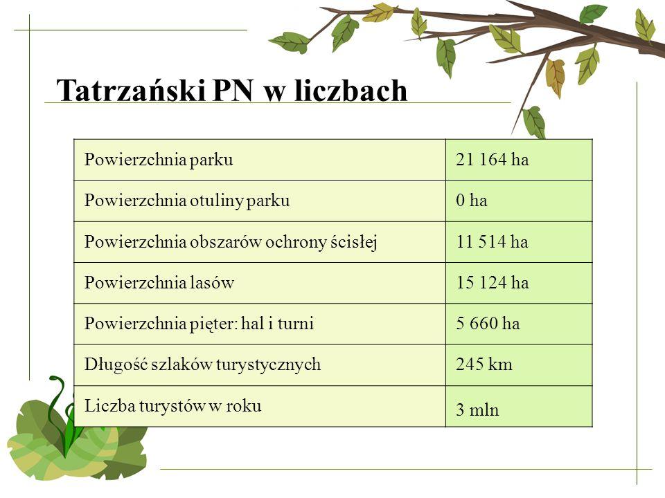 Tatrzański PN w liczbach