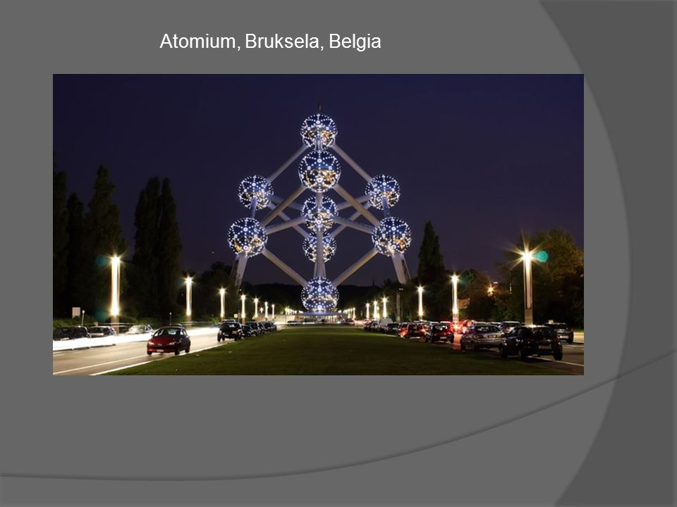 Atomium, Bruksela, Belgia
