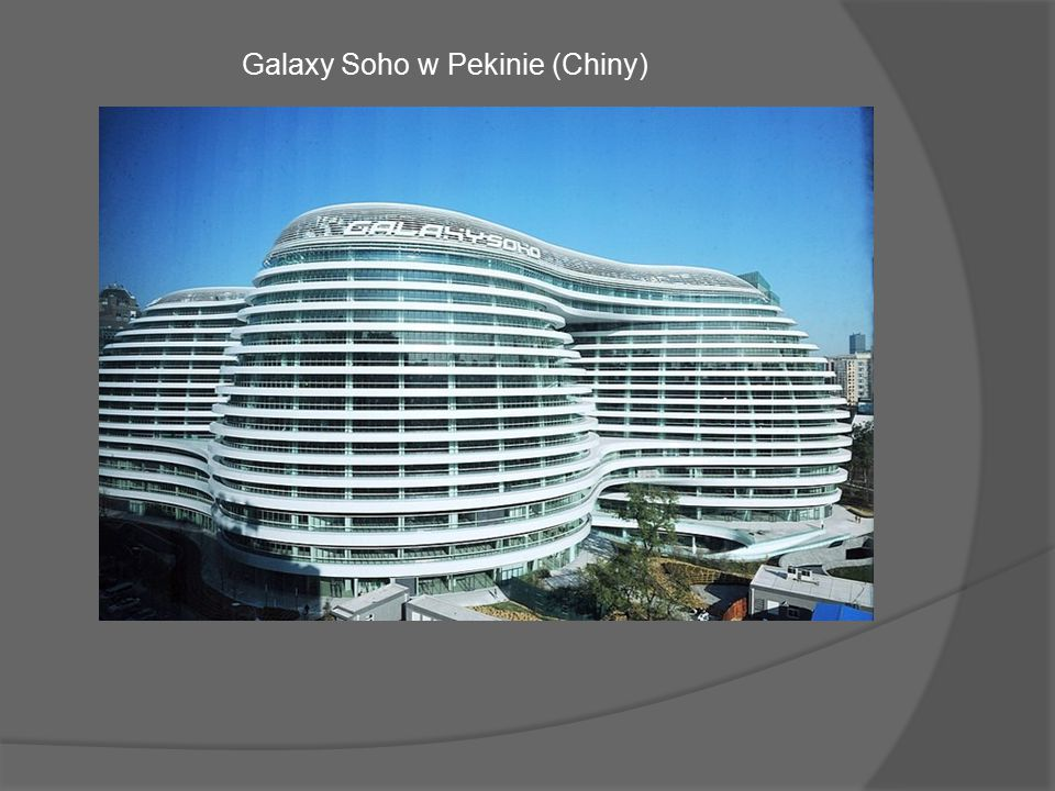 Galaxy Soho w Pekinie (Chiny)