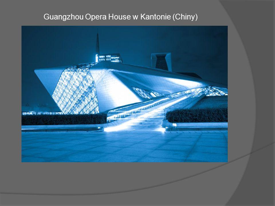 Guangzhou Opera House w Kantonie (Chiny)