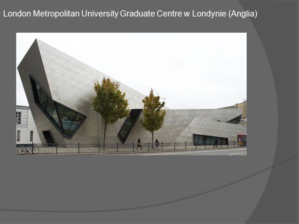 London Metropolitan University Graduate Centre w Londynie (Anglia)