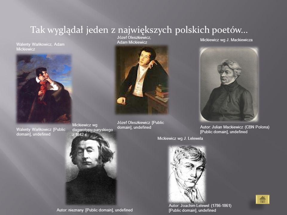 Tak wyglądał jeden z największych polskich poetów...