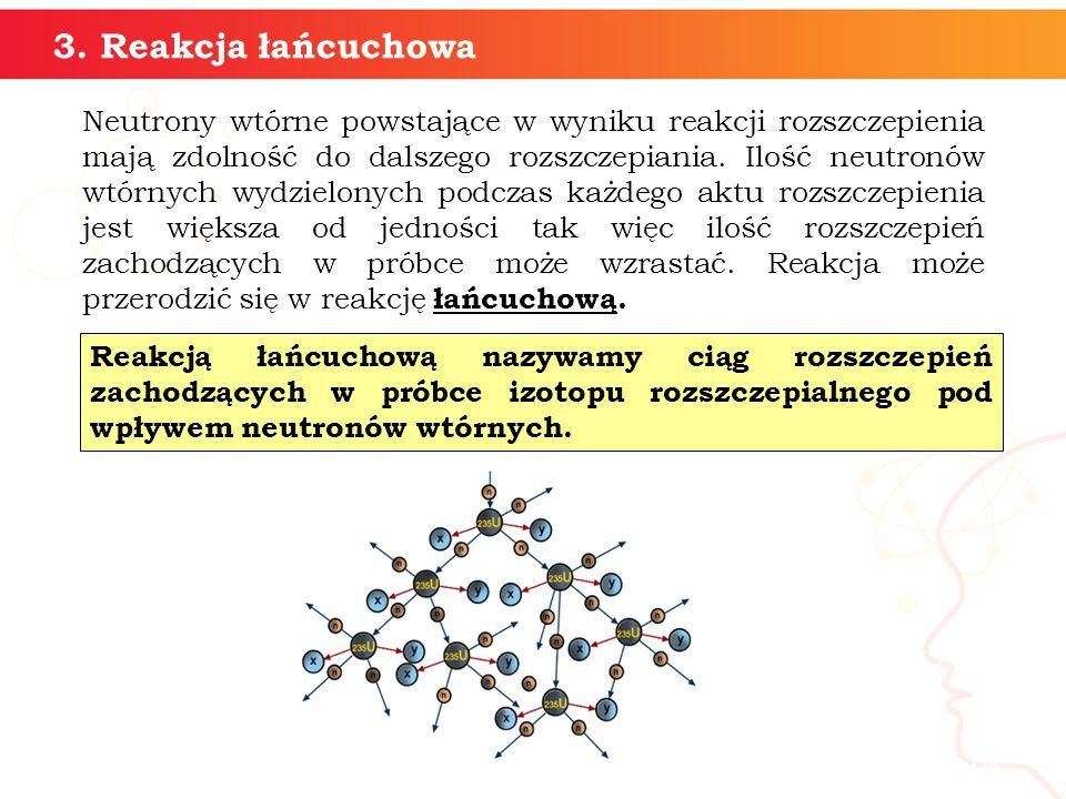 3. Reakcja łańcuchowa