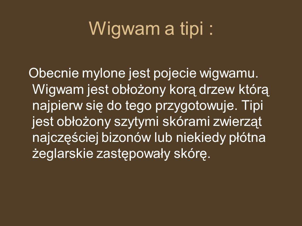 Wigwam a tipi :