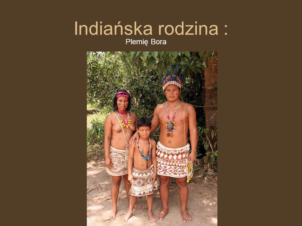 Indiańska rodzina : Plemię Bora