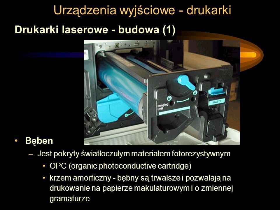Urządzenia wyjściowe - drukarki