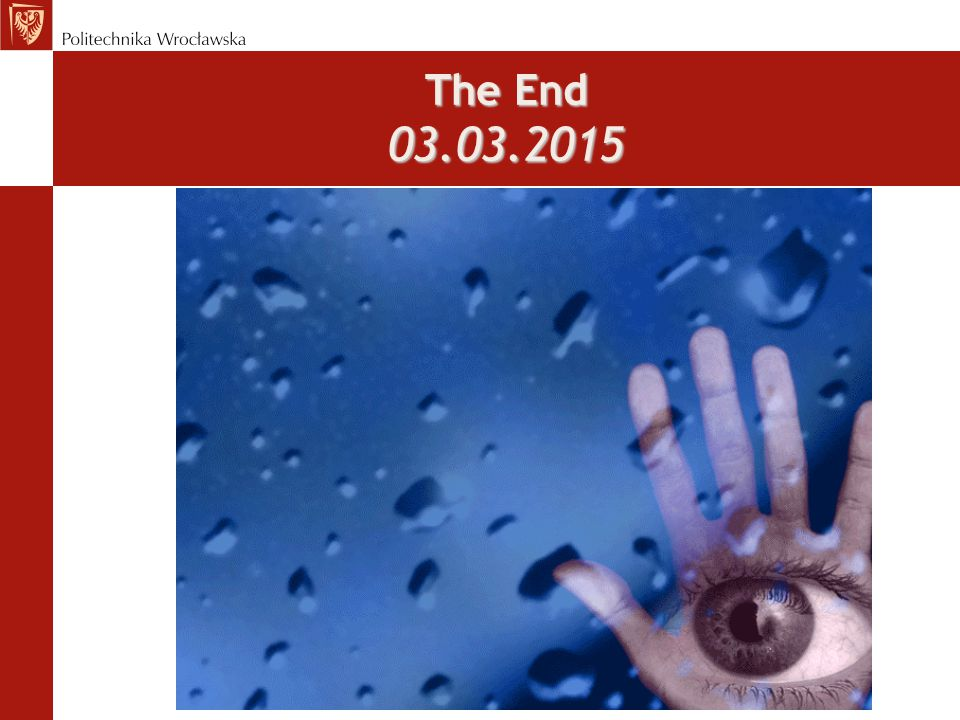 The End 03.03.2015