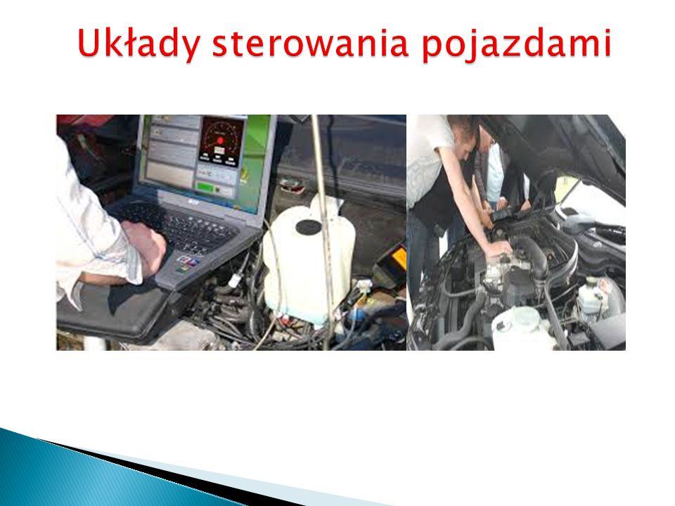 Układy sterowania pojazdami