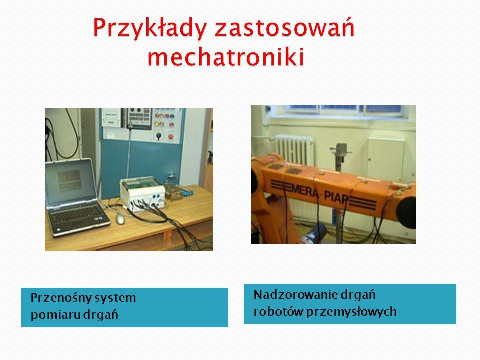 Przykłady zastosowań mechatroniki