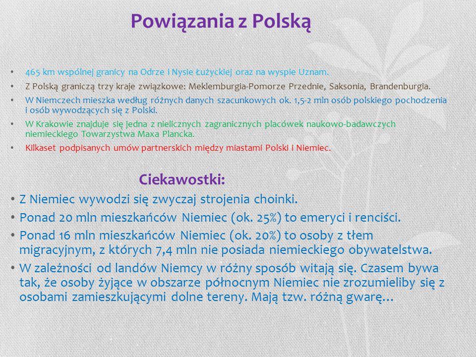 Powiązania z Polską Ciekawostki:
