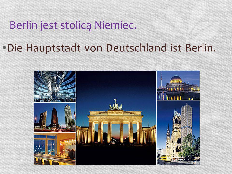 Berlin jest stolicą Niemiec.