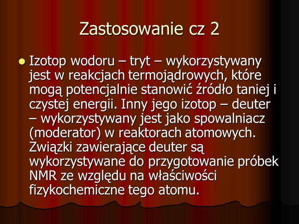 Zastosowanie cz 2