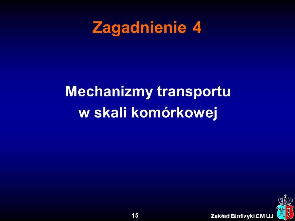 Mechanizmy transportu