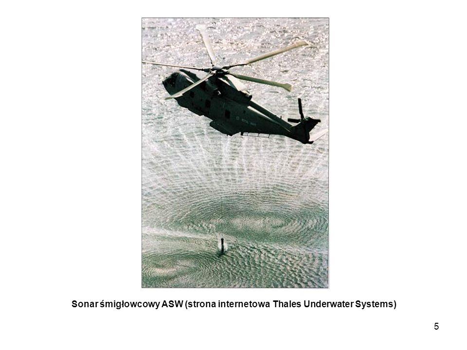Sonar śmigłowcowy ASW (strona internetowa Thales Underwater Systems)
