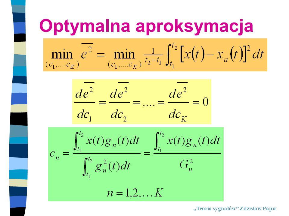 Optymalna aproksymacja