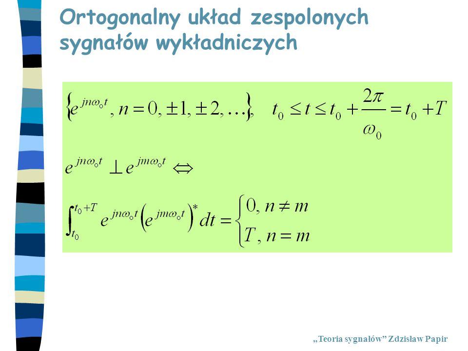 Ortogonalny układ zespolonych sygnałów wykładniczych
