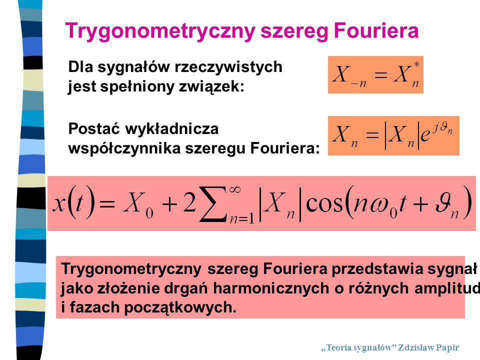 Trygonometryczny szereg Fouriera