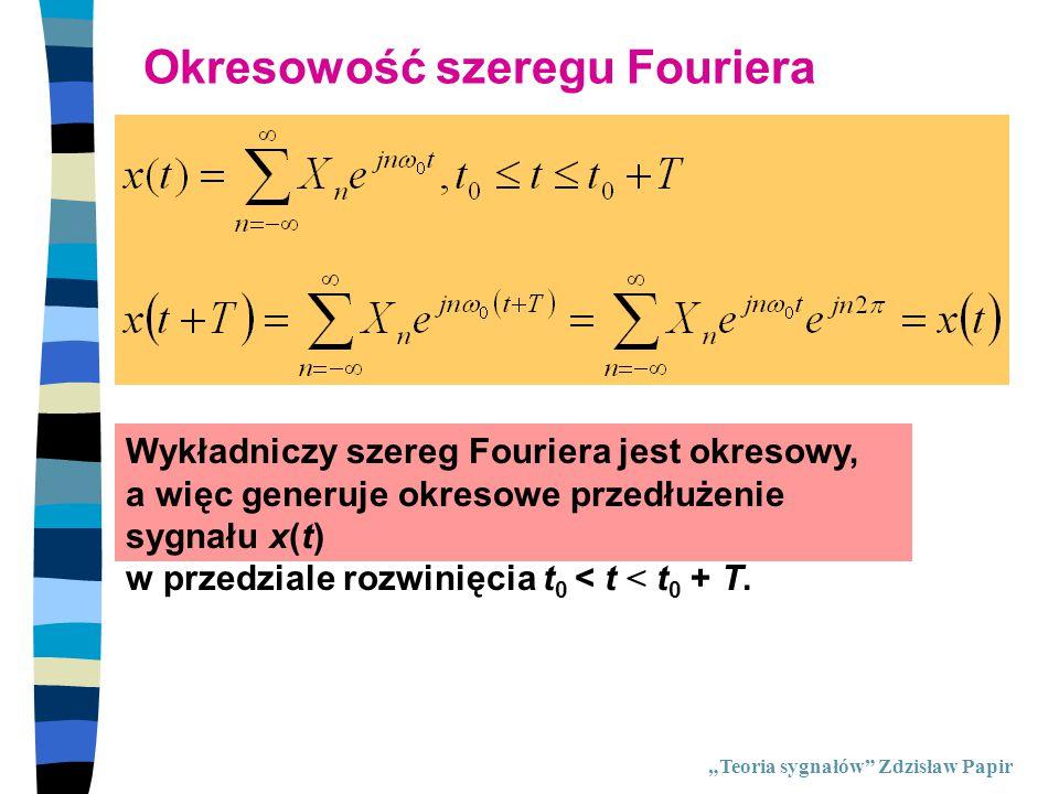 Okresowość szeregu Fouriera
