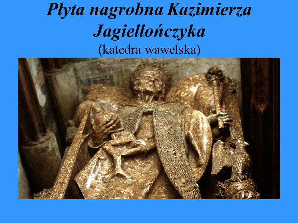 Płyta nagrobna Kazimierza Jagiellończyka (katedra wawelska)