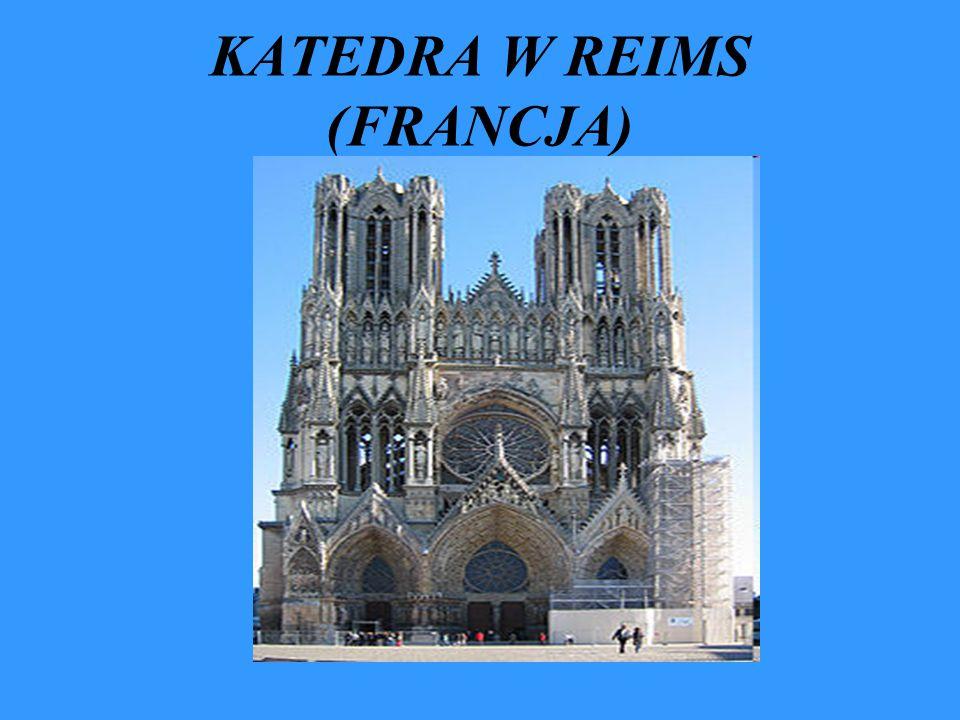 KATEDRA W REIMS (FRANCJA)
