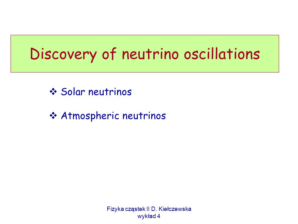 Discovery of neutrino oscillations