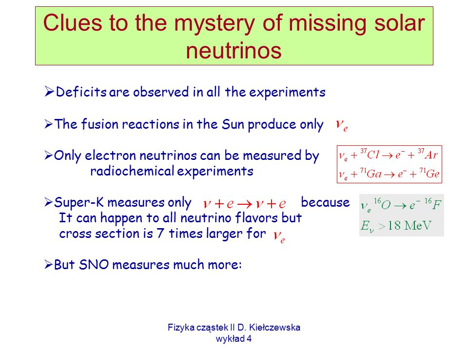 Clues to the mystery of missing solar neutrinos