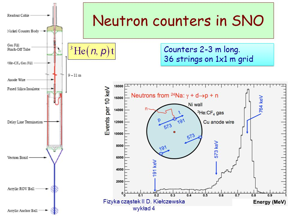 Neutron counters in SNO